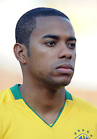Robinho of Brazil. Brazil defeated USA 3-0 during the FIFA Confederations Cup at Loftus Versfeld Stadium in Tshwane/Pretoria, South Africa on June 18, 2009.