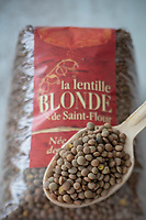 Gastronomie Générale/  Lentille Blonde de Saint Flour ou lentilles blondes de la Planèze // General Gastronomy / Blond Lentils from Saint Flour or Blond Lentils from the Planèze