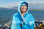 Antoinette Boyd from Fenit after enjoying a swim in Fenit on Sunday.