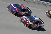 Monster Energy NASCAR Cup Series<br /> GEICO 500<br /> Talladega Superspeedway, Talladega, AL USA<br /> Sunday 7 May 2017<br /> Kyle Busch, Joe Gibbs Racing, Skittles Red, White, & Blue Toyota Camry Denny Hamlin, Joe Gibbs Racing, FedEx Express Toyota Camry<br /> World Copyright: Matthew T. Thacker<br /> LAT Images<br /> ref: Digital Image 17TAL1mt1509