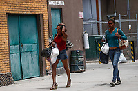 """Transexuales y prostitución.<br /> La Caravana del Migrante con un contingente de alrededor de 600 personas en su mayoría de origen centroamericano, arribo a Hermosillo Sonora a bordo del tren conocido como """"La Bestia"""", provienen de la frontera Sur del País y con rumbo a la ciudad de Mexicali donde continuaran el viaje hasta Tijuana.<br /> La caravana tiene como objetivo solicitar <br /> asilo a Estados Unidos y algunos integrantes piensan solicitar una visa humanitaria en México para laborar en los campos de Sonora y Baja California.<br /> (Photo: NortePhoto/Luis Gutiérrez)"""