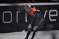 SPEEDSKATING: DORDRECHT: 07-03-2021, ISU World Short Track Speedskating Championships, QF 1000m Men, Itzhak de Laat (NED), ©photo Martin de Jong