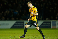 Mickey Demetriou of Newport County celebrates scoring his sides second goal of the match  during the Sky Bet League Two match between Newport County and Crawley Town at Rodney Parade, Newport, Wales, UK. 19 January 2018
