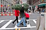 Christmas season begins in New York