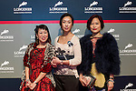 V.I.P. guests attend the Longines Hong Kong Masters 2015 at the AsiaWorld Expo on 14 February 2015 in Hong Kong, China. Photo by Moses Ng / Power Sport Images