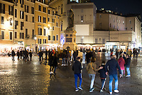 Rome, 17/02/2019. Documenting Campo de' Fiori (1.) in Rome during the 419th Anniversary of the death of Giordano Bruno (2. 3.). On the 17th February 1600 the Dominican friar, Philosopher, mathematician, poet, occultist and cosmological theorist - after being charged of heresy by the Roman Inquisition due to be on denial of several core Catholic doctrines - was burned alive with his tongue in a gag in Rome's Campo de' Fiori. Father of the theories of the Infinite Universe and Worlds, <<[…] Bruno's theories influenced 17th-century scientific and philosophical thought and, since the 18th century, have been absorbed by many modern philosophers. As a symbol of the freedom of thought, Bruno inspired the European Liberal movements of the 19th century, particularly the Italian Risorgimento (the movement for national political unity). […] his ethical ideas, in contrast to religious ascetical ethics, appeal to modern humanistic activism; and his ideal of religious and philosophical tolerance has influenced liberal thinkers […]>> (Source, Britannica.com, 4.).<br />