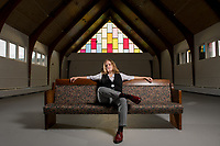 UAA Alumna Candace Blas manages The Church of Love in Spenard, a former church which now serves as a community space for Spenard, providing workspaces and a venue for local artists and performers, as well as hosting classes through the connected Anchorage Community House (ACH).