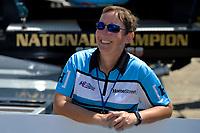 Cindy Shirley, crew chief, U-1