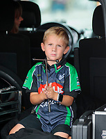 Sep 14, 2019; Mohnton, PA, USA; Cameron McMillen, son of NHRA top fuel driver Terry McMillen during qualifying for the Reading Nationals at Maple Grove Raceway. Mandatory Credit: Mark J. Rebilas-USA TODAY Sports