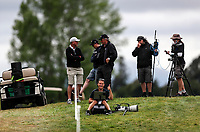 Hagen Hopkins shoots for Getty Images during the Asia Pacific Amateur Golf Championship Round Four, Royal Wellington Golf Course, Wellington, New Zealand, 29 October2017.  Photo: Simon Watts/www.bwmedia.co.nz