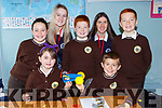 Laura O'Shea and Laura Manley helping  Gaelsoil Mhic Easminn Tralee pupils building cars during engineering week in Castleisland Presentation on Friday Front row l-r: Niamh Lynch, Mary Dennehy, Rory Lacey, Johnny Knneelings David Buckley