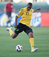 CARSON, CA – June 6, 2011: Jamaican Rodolph Austin (17) during the match between Grenada and Jamaica at the Home Depot Center in Carson, California. Final score Jamaica 4 and Grenada 0.