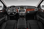 2013 Mercedes GL-Class GL450 Luxury SUV Straight dashboard view Stock Photo