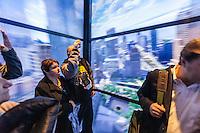 america,New York,  Manhattan, Liberty tower, WTC, lift