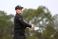 PINEHURST, NC - MARCH 02: Alex Fitzpatrick of Wake Forest University tees off on the fourth hole at Pinehurst No. 2 on March 02, 2021 in Pinehurst, North Carolina.