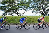 PEREIRA - COLOMBIA, 18-06-2021:  Prueba de ruta Sub-23 hombres con un recorrido de 158 kms. Campeonatos Nacionales de Ciclismo de Ruta se realiza entre el 17 y el 20 de junio de 2021 en el departamento de Risaralda, dividida en contrarreloj y el circuito. La carrera cuenta con las categorías damas elites y sub 23; y hombres sub 23 y elites. / U23 men's road test with a distance of 158 kms. National Road Cycling Championships is held between June 17 and 20, 2021 in the department of Risaralda, divided into time trial and circuit. The race has the categories ladies elites and  U23; and men under 23 and elites . Photo: VizzorImage / Santiago Castro / Cont