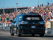 funny car, Camry, J.R. Todd, DHL, support vehicle, Sienna