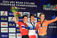 2021 UEC Road Cycling European, Trento, Italy on 9th; Men U23 Individual Time Trial, 1st Johan Price Pejtersen (Denmark) 2nd Søren Værenskjold (Norway) 3rd Daan Hoole (Netherlands) on the podium