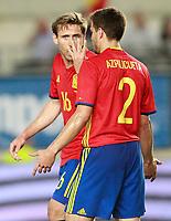 Spain's Cesar Azpilicueta (r) and Nacho Monreal during international friendly match. June 7,2017.(ALTERPHOTOS/Acero) (NortePhoto.com) (NortePhoto.com)
