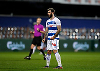 17th February 2021; The Kiyan Prince Foundation Stadium, London, England; English Football League Championship Football, Queen Park Rangers versus Brentford; Charlie Austin of Queens Park Rangers