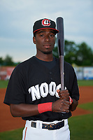 Chattanooga Lookouts shortstop Nick Gordon (1) poses for a photo before a game against the Jackson Generals on May 9, 2018 at AT&T Field in Chatttanooga, Tennessee.  Chattanooga defeated Jackson 4-2.  (Mike Janes/Four Seam Images)