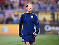 Detroit, MI - September 17, 2015:  The USWNT defeated Haiti 5-0 during the Victory Tour at Ford Field.
