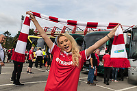 Nottingham Forest Fans on the buses