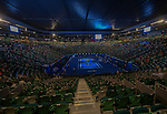 Scenes from the Australian Open in Melbourne Australia on January 19, 2014
