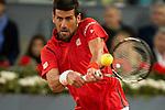 Serbian Novak Djokovic during ATP Semi-Finals Mutua Madrid Open Tennis 2016 in Madrid, May 07, 2016. (ALTERPHOTOS/BorjaB.Hojas)