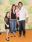 Brooke Burke,Davis Charvet & family at The 2009 Nickelodeon's Kids Choice Awards held at Pauley Pavilion in West Hollywood, California on March 28,2009                                                                     Copyright 2009 Debbie VanStory/RockinExposures