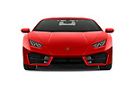 Car photography straight front view of a 2019 Lamborghini Huracan - 2 Door Coupe Front View