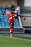 GOAL - Ipswich Town's Joe Garner celebrates his goal during the Sky Bet Championship match between Millwall and Ipswich Town at The Den, London, England on 15 August 2017. Photo by Carlton Myrie.