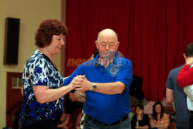 Jim and Margaret Finegan at the Annual Set Dancing Weekend in An Grianan, Termonfeckin...Photo NEWSFILE/Jenny Matthews..(Photo credit should read Jenny Matthews/NEWSFILE)