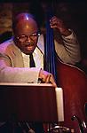 Lisle(Lyle) Atkinson, Oct 1992 : Lisle(Lyle) Atkinson performing in Tokyo, Japan.