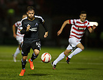 David Goodwillie chasing shadows for Aberdeen