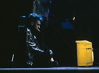 L'artiste peintre multidisciplinaire Zilon, 1985 <br /> <br /> <br /> PHOTO :  Agence Quebec Presse