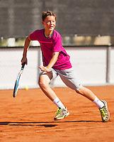 Netherlands, Rotterdam August 07, 2015, Tennis,  National Junior Championships, NJK, TV Victoria, Freek van Donselaar<br /> Photo: Tennisimages/Henk Koster