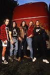 Various portraits & live photographs of the rock band, Jackyl.
