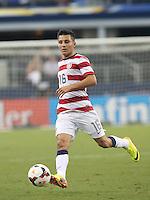Jose Torreso #16 of the USMNTin action against Honduras on July 24, 2013 at Dallas Cowboys Stadium in Arlington, TX. USMNT won 3-1.