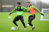 Wayne Routledge of Swansea City in action during the Swansea City Training at The Fairwood Training Ground in Swansea, Wales, UK.  Wednesday 08 January 2020