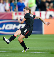 Heather O'Reilly. The USWNT defeated Japan, 2-0,  at WakeMed Soccer Park in Cary, NC.