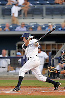 May 18, 2010 Infielder Matthew Hall of the Charlotte Stone Crabs during a game at Charlotte Sports Park in Port Charlotte FL. The Stone Crabs are the Florida State League Class-A affiliate of the Tampa Bay Rays,Photo by: Mark LoMoglio/Four Seam Images