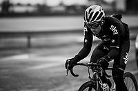 defending champion Michal Kwiatkowski (POL/SKY)<br /> <br /> 109th Milano-Sanremo 2018<br /> Milano > Sanremo (291km)