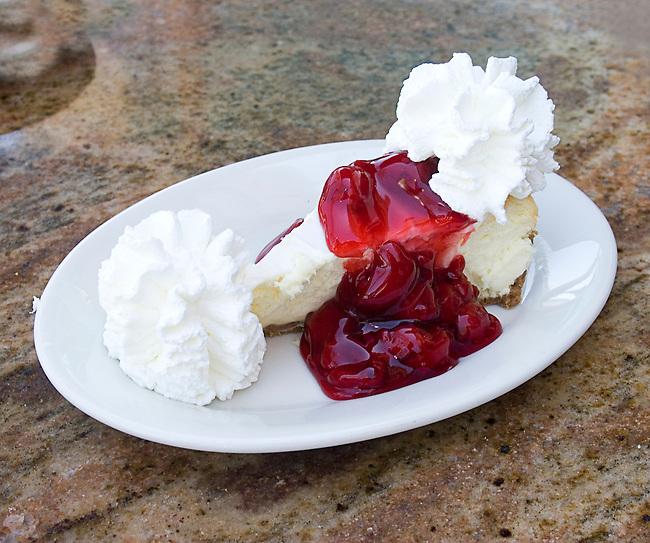 Cherry Cheesecake, Cheesecake Factory, Restaurant, Orlando, Florida