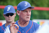 13 July 2010: Assistant coach John Haar is seen during day 1 of the Open de Rouen, an international tournament with Team France, Team Saint Martin, Team All Star Elite, at Stade Pierre Rolland, in Rouen, France.
