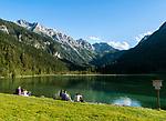 Oesterreich, Salzburger Land, Pongau, Kleinarltal: am Talschluss liegt der Jaegersee unterhalb der Radstaedter Tauern | Austria, Salzburger Land, region Pongau: valley Kleinarltal with lake Jaegersee and Radstaedter Tauern mountains