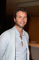 Alfred de MONTESQUIOU - Conference de rentree chaine TV ARTE le 24/08/2017, Paris, France