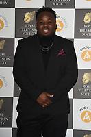 Samson Kayo<br /> arriving for the RTS Awards 2019 at the Grosvenor House Hotel, London<br /> <br /> ©Ash Knotek  D3489  19/03/2019