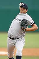 April 15, 2009:  Pitcher Grant Duff of the Tampa Yankees, Florida State League Class-A affiliate of the New York Yankees, during a game at Space Coast Stadium in Viera, FL.  Photo by:  Mike Janes/Four Seam Images