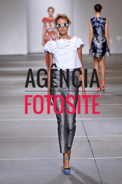 Londres, Inglaterra '09/2014 - Desfile de Michael van der Ham durante a Semana de moda de Londres  -  Verao 2015. <br /> <br /> Foto: FOTOSITE